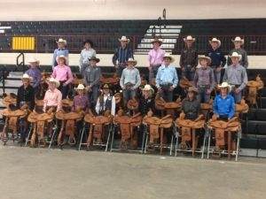 2019 State 4H saddle winners